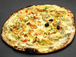 Pizza Poulet Curry