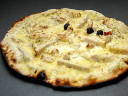 Pizza Poulet Moutarde